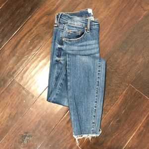 Pistola / high waisted cropped jeans